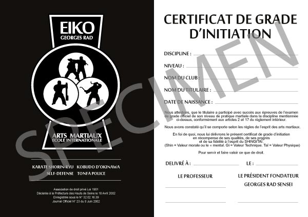 EIKO-certificat-de-grade-initiation-specimen