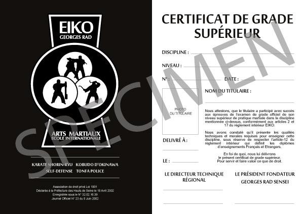 EIKO-certificat-de-grade-superieur-specimen