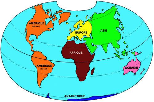 Les-6-continents
