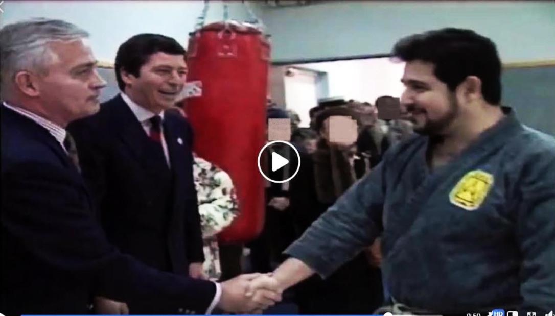 Inauguration Marcel Cerdan Janvier 1992 - Jean-Pierre Bastide